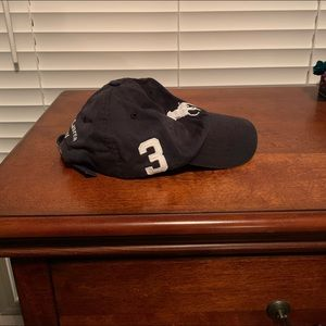 Polo Ralph Lauren hat black with white horse